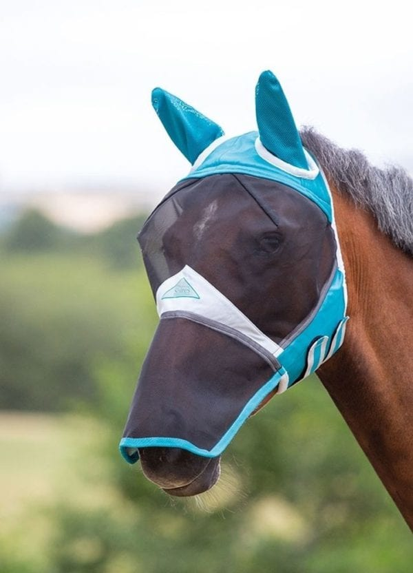 Fly Mask with Ears & Nose