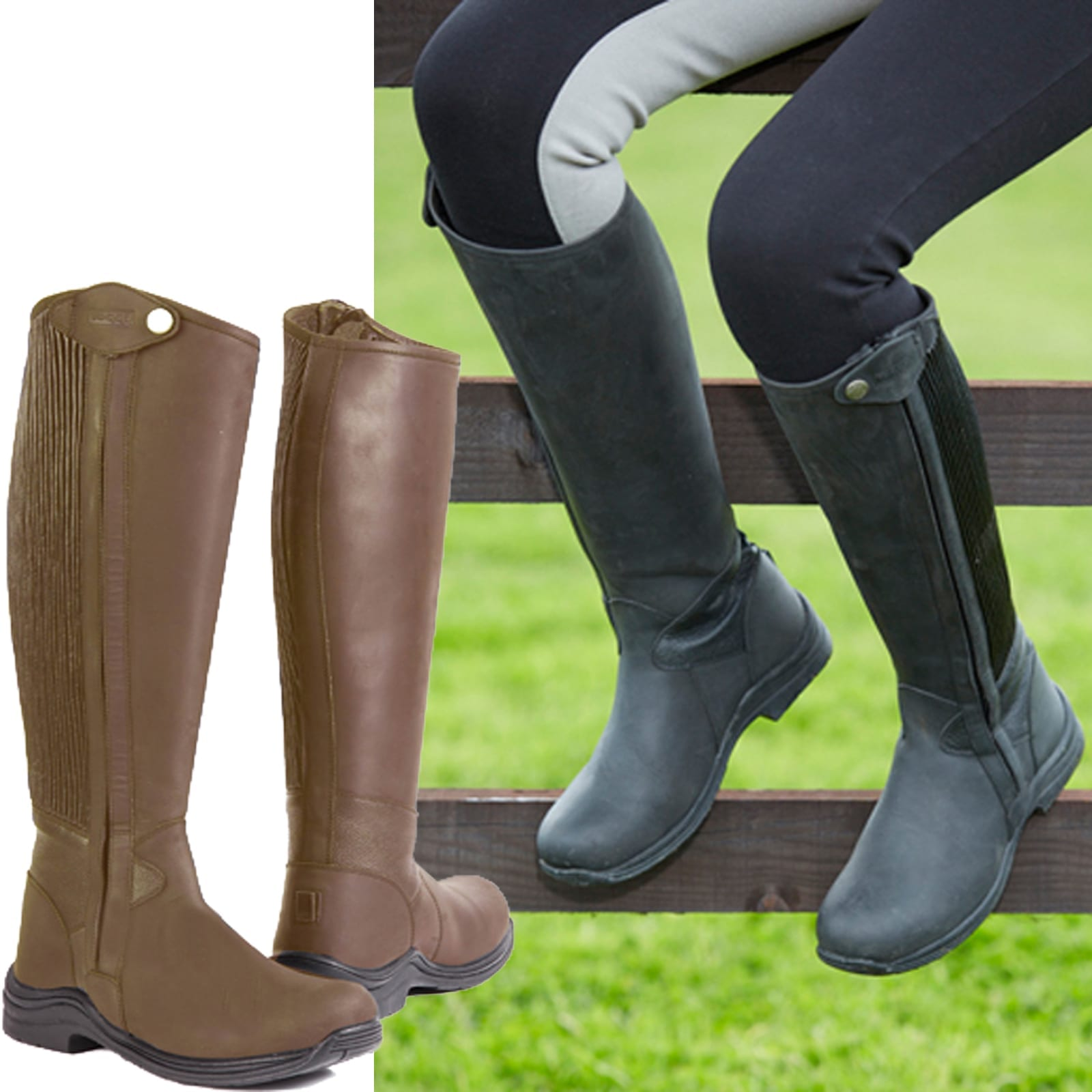 Toggi Quest Leather Riding Boot