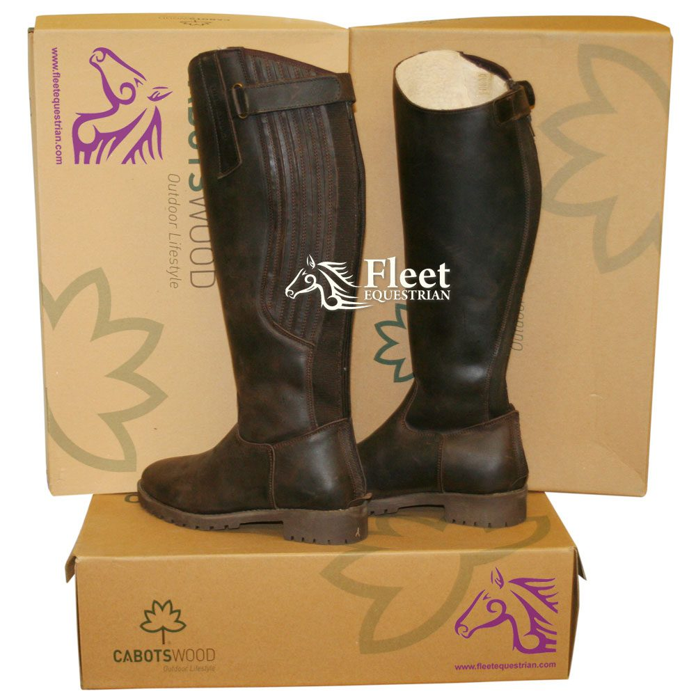 Cabotswood Calcot Peat Riding Boot