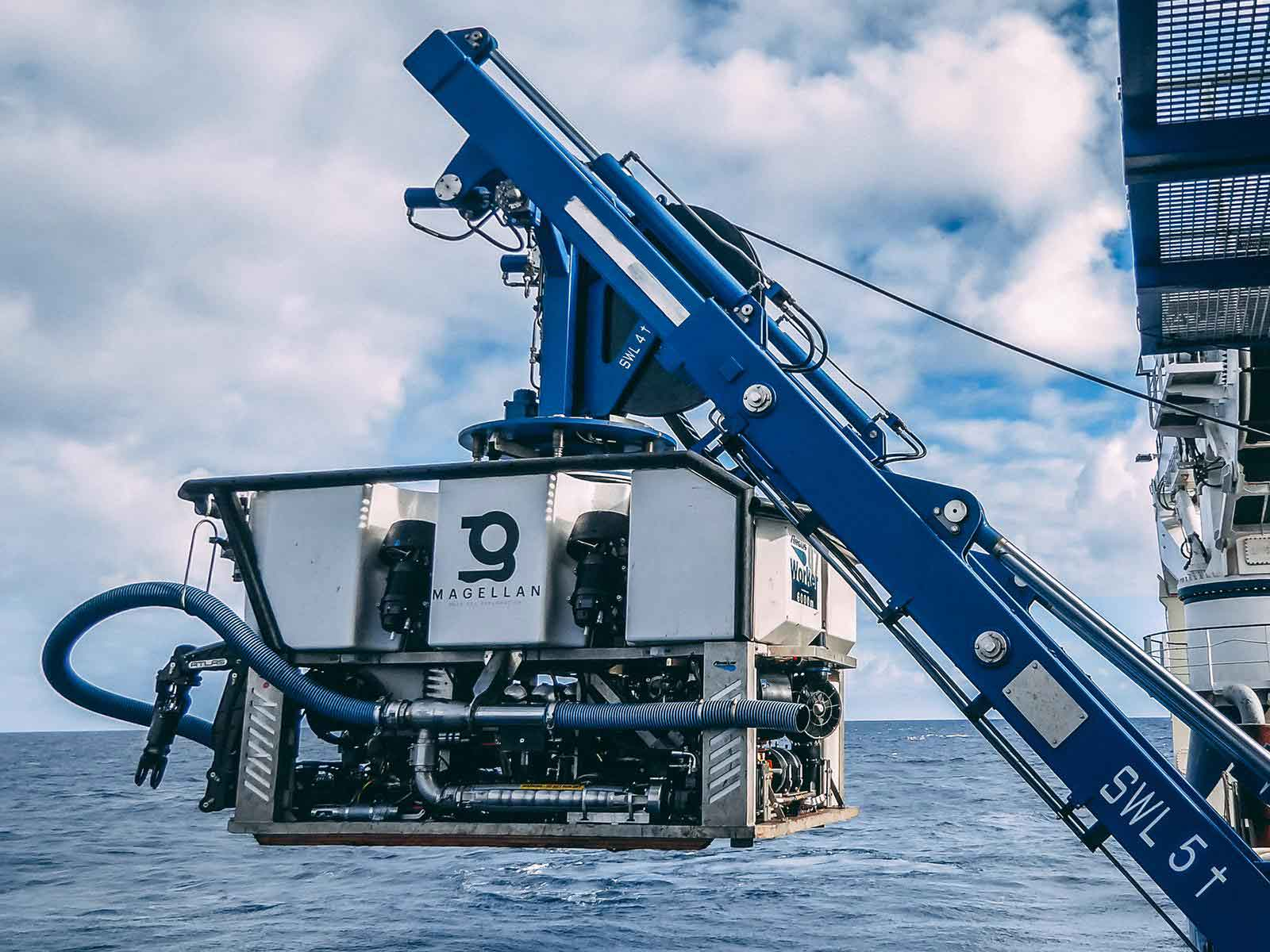 Argus Electric Worker ROV