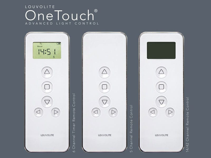 Motorised Blinds Remote