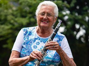 Playing the clarinet helps athsma