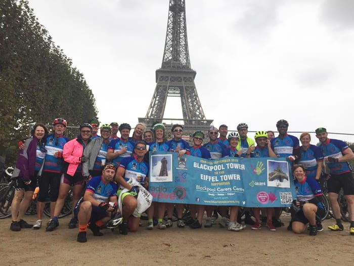 Blackpool Tower to The Eiffel Tower on a bike! 2