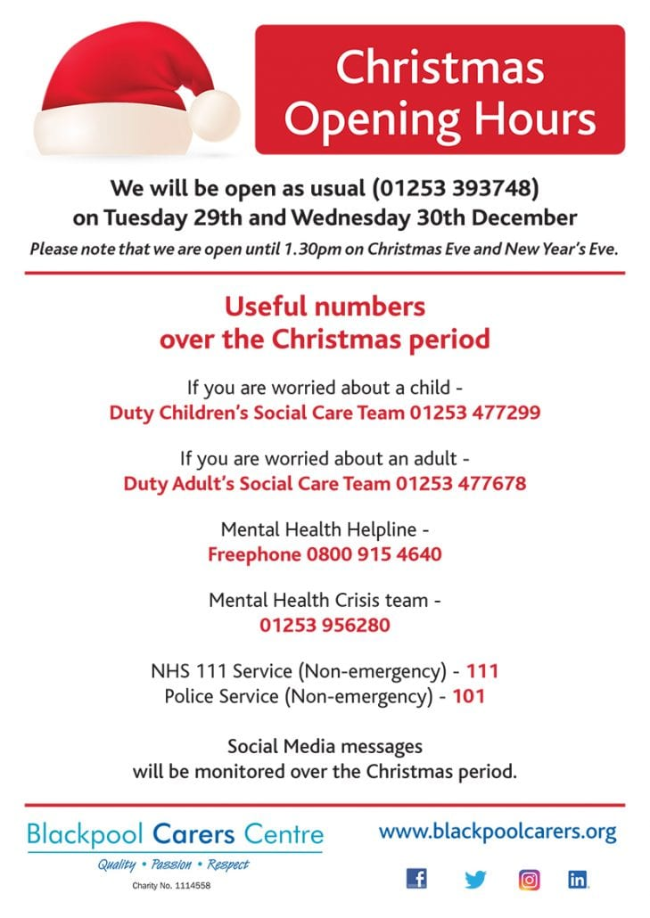 Christmas Opening Times 5