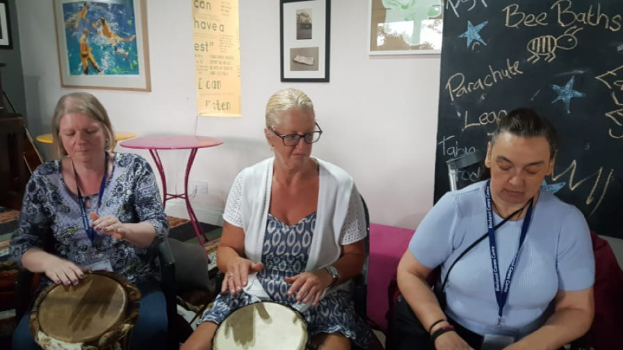 Music Therapy for Carers