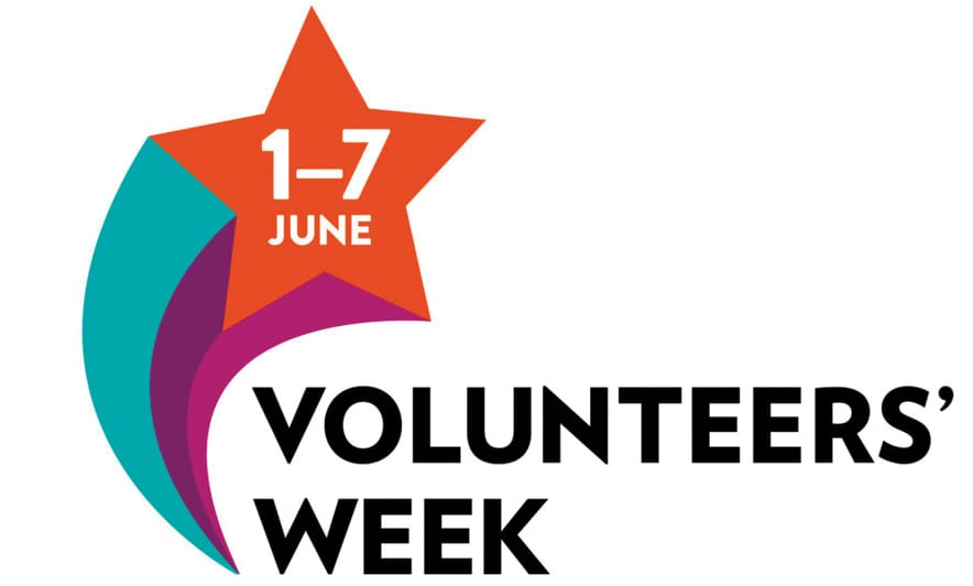 """1-7 June is Volunteers' Week - we would like to say """"Thank You"""" to all our Volunteers...we couldn't do it without you! 1"""