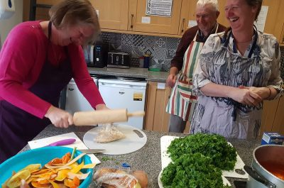 Interactive cooking group