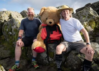 Paul, Ted and Steve Coogan