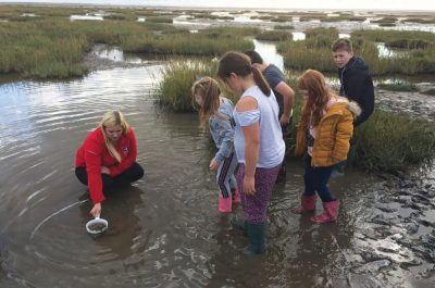 Young Carers pond dipping