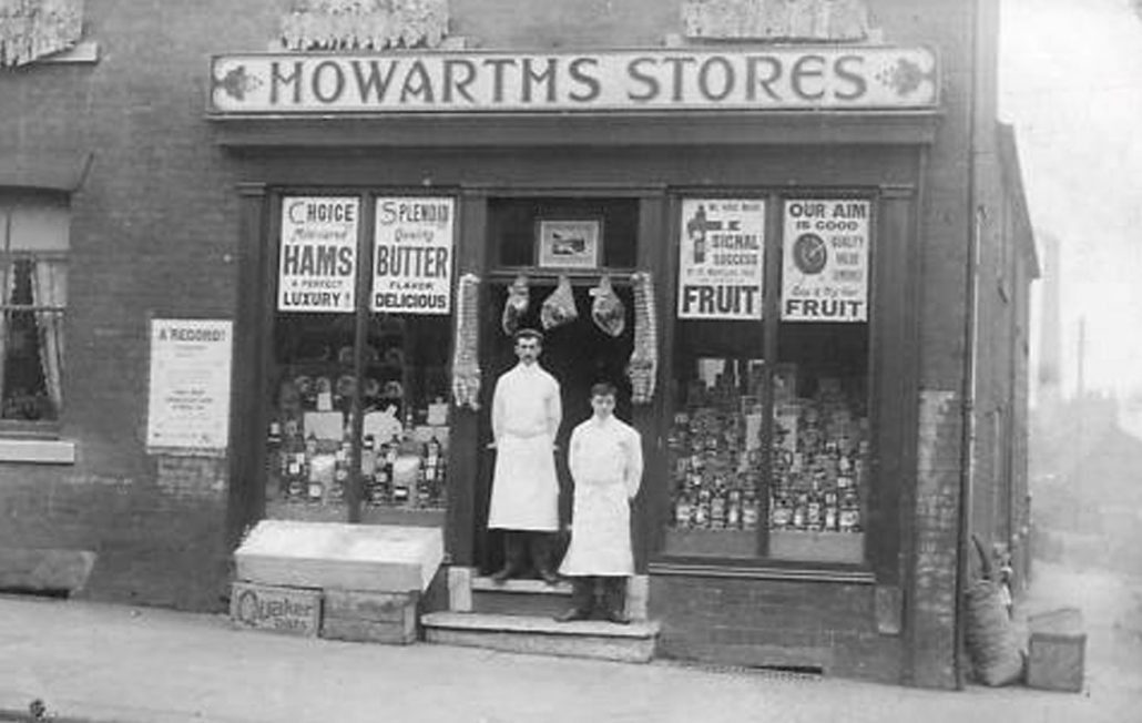 Howarths Stores, Middleton 19th Century