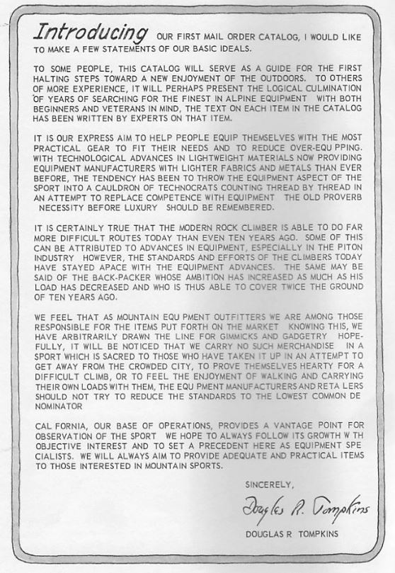 The North Face Catalogue Note