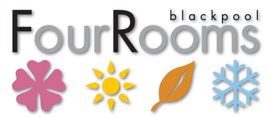 FourRooms Blackpool BB logo Blackpool B&B